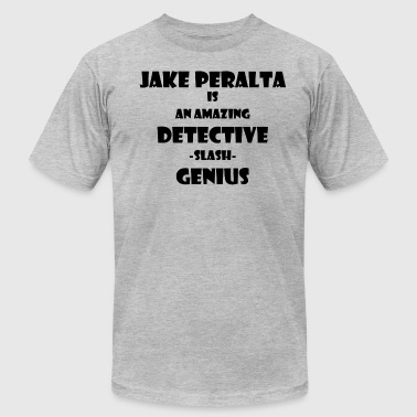 detective slash genius - Men's T-Shirt by American Apparel