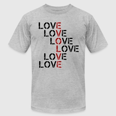 Evolve in Love - Men's Fine Jersey T-Shirt