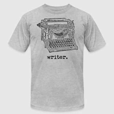 Writer Underwood - Men's T-Shirt by American Apparel