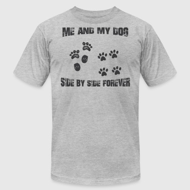 Dog - Men's T-Shirt by American Apparel