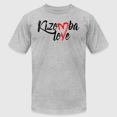 kizomba love - Men's T-Shirt by American Apparel