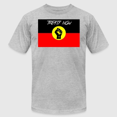 treaty aboriginal flag - Men's Fine Jersey T-Shirt