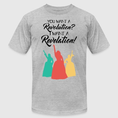 You want a Revolution? - Men's T-Shirt by American Apparel
