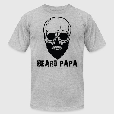Beard papa - Men's T-Shirt by American Apparel