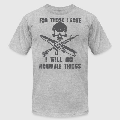 Army t shirts - Men's T-Shirt by American Apparel