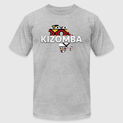 Kizomba_map - Men's T-Shirt by American Apparel