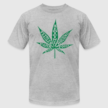 Uses 4 Hemp - Men's Fine Jersey T-Shirt
