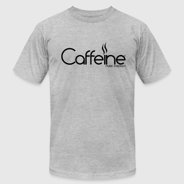 Caffeine Black - Men's Fine Jersey T-Shirt