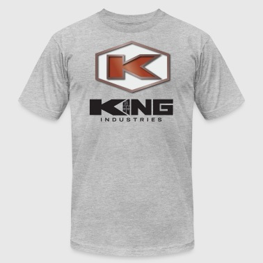 King Industries - Men's T-Shirt by American Apparel