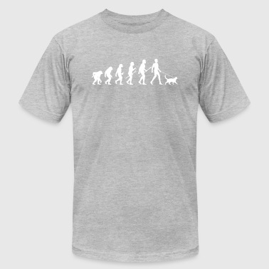Cat evolution - Men's T-Shirt by American Apparel
