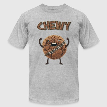 Funny Nerd Humor - Chewy Chocolate Cookie Wookiee - Men's Fine Jersey T-Shirt