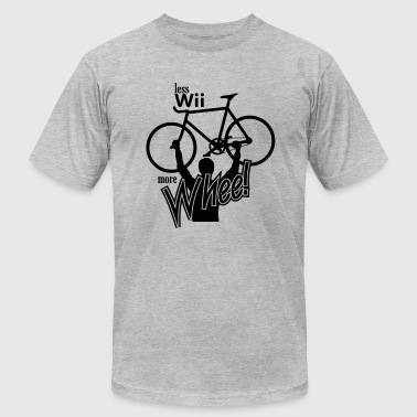 less wii more whee - Men's Fine Jersey T-Shirt