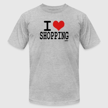 i love shopping by wam - Men's Fine Jersey T-Shirt
