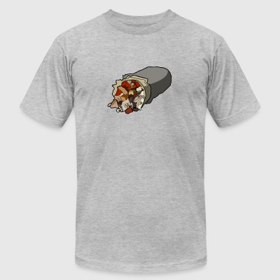 Just Burrito Shirt - Men's T-Shirt by American Apparel