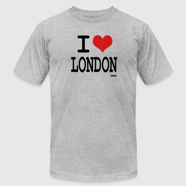 i love london by wam - Men's Fine Jersey T-Shirt