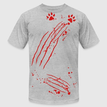 scratch marks - Men's Fine Jersey T-Shirt