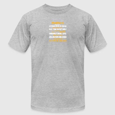 Papa's House Rules T Shirt - Men's T-Shirt by American Apparel
