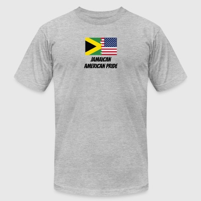Jamaican American Pride - Men's T-Shirt by American Apparel