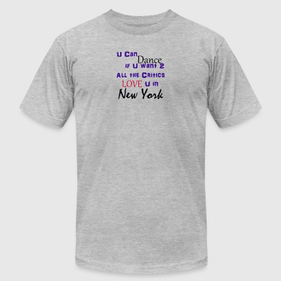 Prince - All The Critics Love U in New York - Men's T-Shirt by American Apparel
