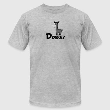Cartoon Donkey - Men's Fine Jersey T-Shirt