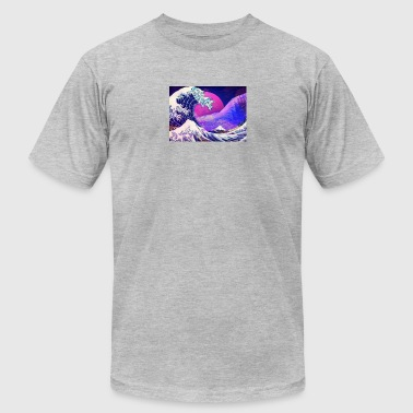 Aesthetic Vaporwave - Men's T-Shirt by American Apparel