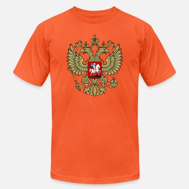 Double Head Russian Double Headed Eagle - Unisex Jersey T-Shirt