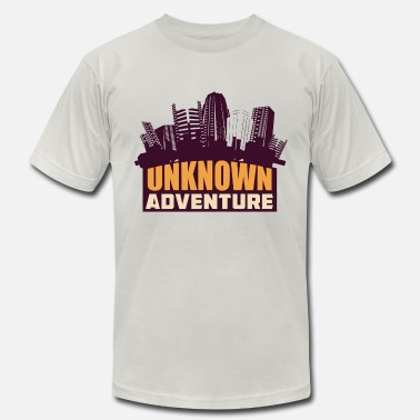 Explore The Unknown Unknown Adventure - Men's  Jersey T-Shirt