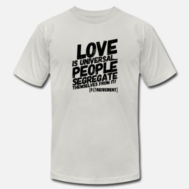 Universal Love LOVE IS UNIVERSAL - Men's Jersey T-Shirt