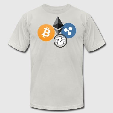 Cryptocurrency - Men's Fine Jersey T-Shirt