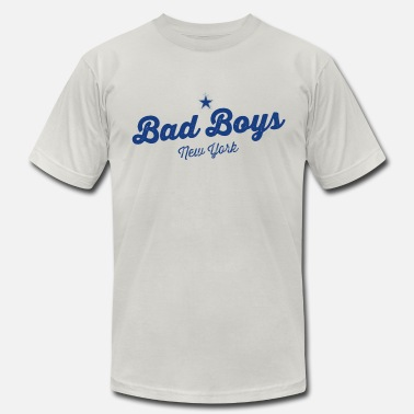 Apple Hip Hop Vintage New York Bad Boys - Men's  Jersey T-Shirt