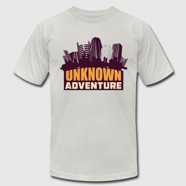 Explore The Unknown Unknown Adventure - Men's Fine Jersey T-Shirt