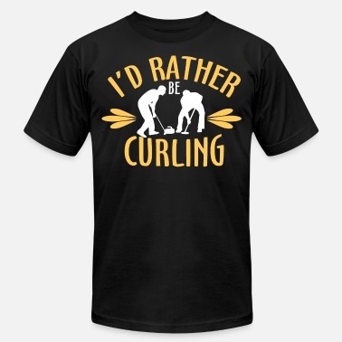 Curling Sports Curling, Curl, winter sport - Men's  Jersey T-Shirt