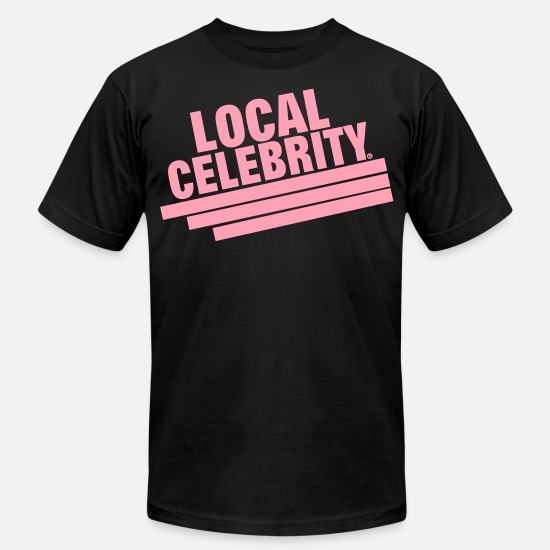 Celebrity T-Shirts - LOCAL CELEBRITY - Men's Jersey T-Shirt black