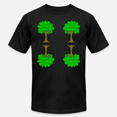 Linden Beautiful nature. Tree for environment and linden - Unisex Jersey T-Shirt