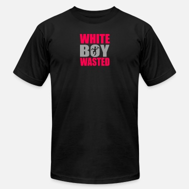 White Boy Wasted White Boy Wasted - Men's  Jersey T-Shirt