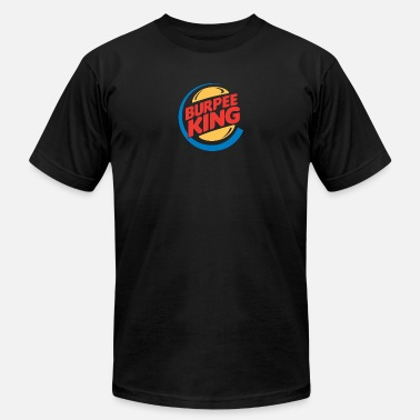 Burpee Fitness Burpee King Fitness - Men's  Jersey T-Shirt