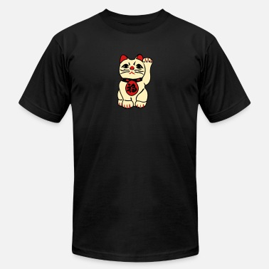 Bliss good fortune cat - Unisex Jersey T-Shirt