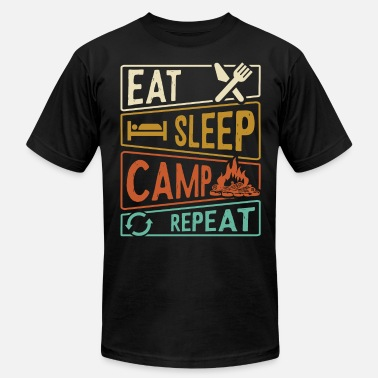 Outfit Eat Sleep Camp Repeat - Unisex Jersey T-Shirt