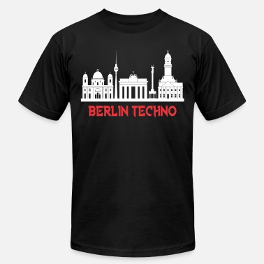Air Berlin BERLIN TECHNO - Men's  Jersey T-Shirt