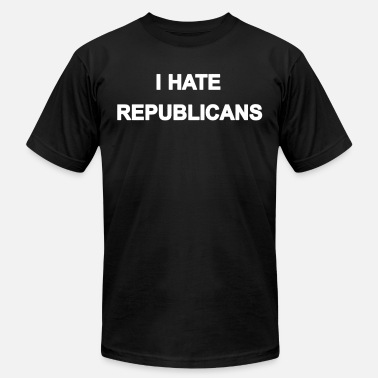 Hate Republican I hate republicans - Men's  Jersey T-Shirt