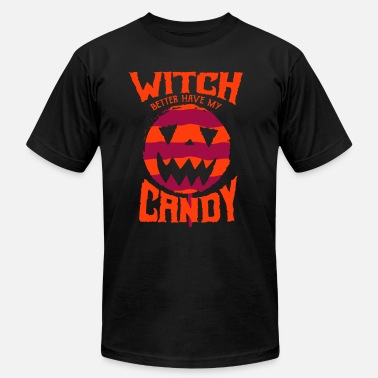 Halloween Witch Candy - Unisex Jersey T-Shirt