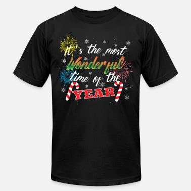 Wonderful ITS THE MOST WONDERFUL TIME OF THE YEAR - Men's  Jersey T-Shirt