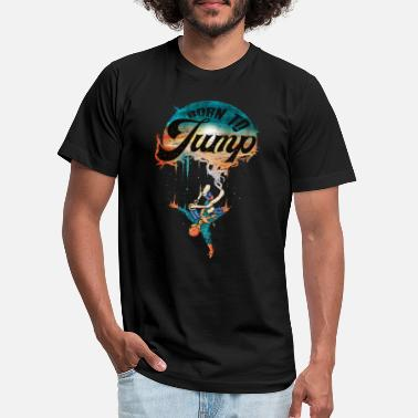 Rubber Rope Bungee Jumping - Unisex Jersey T-Shirt