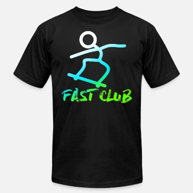 The Freestyle Life Skatebord fast club freestyle sk8ting street life - Men's  Jersey T-Shirt