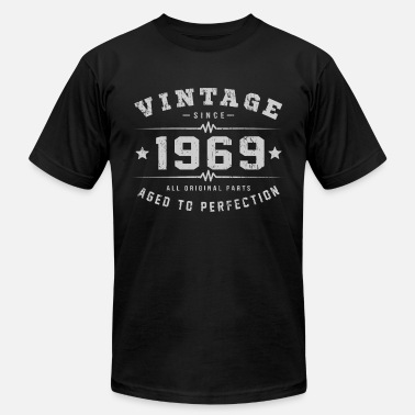 Aged 1969 Aged To Perfection - Unisex Jersey T-Shirt