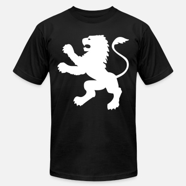 Upright Simple Upright Lion - Men's Fine Jersey T-Shirt