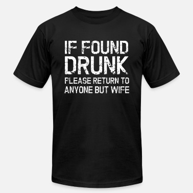 567c0a35 Drunk - Husband Wife Funny Gift - Men's Jersey T-Shirt