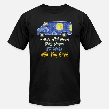 Prison Art Design I Have No Monet For The Degas To Make The Van Gogh - Men's  Jersey T-Shirt