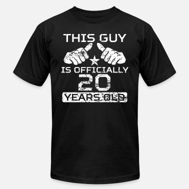 20 Years Old This Guy Is Officially 20 Years Old - Men's  Jersey T-Shirt