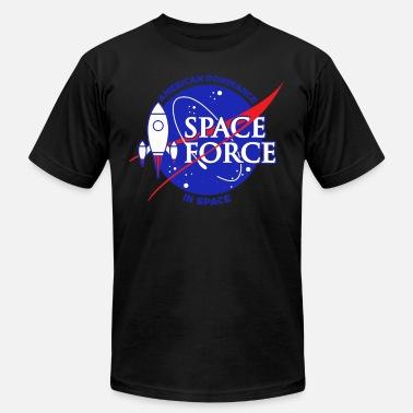 8f045e01 Nasa Funny US Space Force | NASA Rocket Military Space Dominance Dark -  Men'. Men's Jersey T-Shirt. US Space Force | NASA ...
